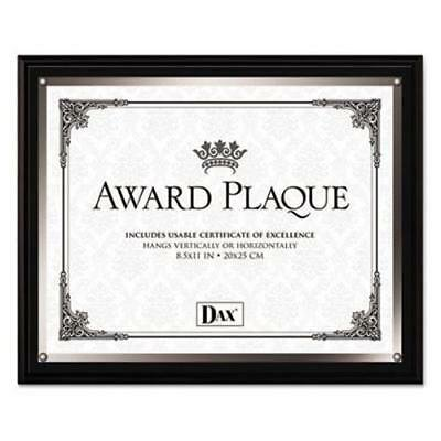 Black Award Plaque (Dax Insertable Award Plaque, 8 1/2