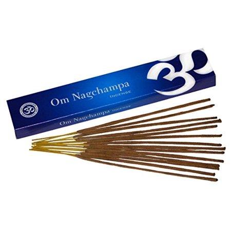 - Om Nagchampa Nag Champa Premium Incense Fragrance 15 Grams Box