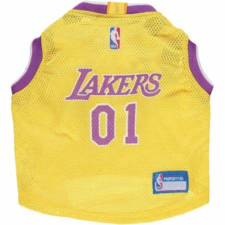 - Los Angeles Lakers Mesh Basketball Dog Jersey