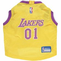de76bff93 Product Image Los Angeles Lakers Mesh Basketball Dog Jersey