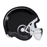 Helmet Appetizer Plate by Cakewalk 8ct, Great for Football Watch Parties