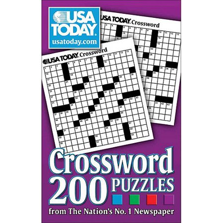 Usa Today Crossword  200 Puzzles From The Nations No  1 Newspaper