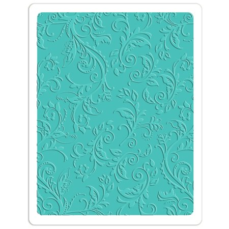 Sizzix Textured Impressions Plus Embossing Folder Botanical (Cuttlebug Emboss All In One Master Folder System)