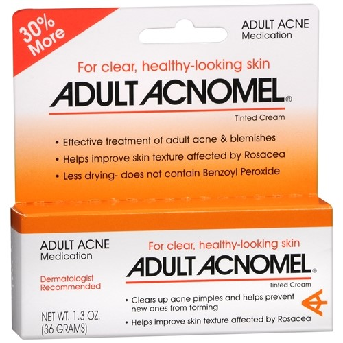 Adult Acnomel Acne Medication Cream, 1.3 Oz