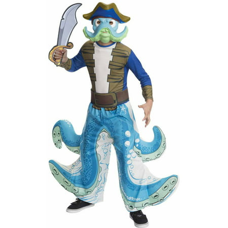 Skylanders Swap Force Wash Buckler Boys' Child Halloween Costume - Skylander Outfits