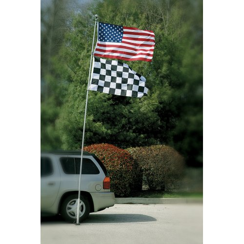 BSI Products Telescoping Tailgate Flagpole by Bsi Products, Inc.