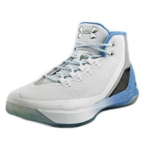 Basketball Shoe (11.5, White/Opal Blue