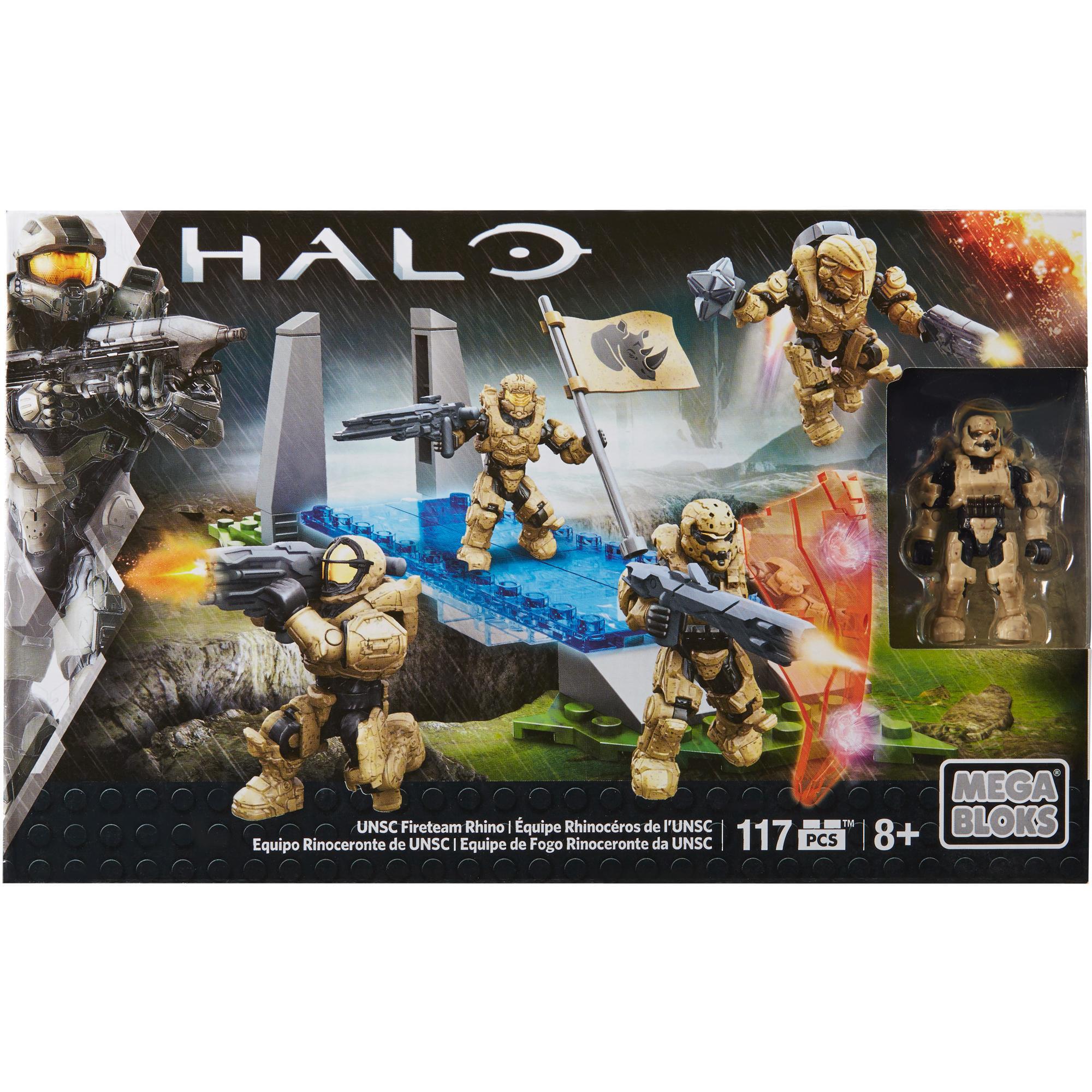 Mega Bloks Halo UNSC Fireteam Rhino