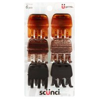 (2 Pack) Scunci® Got This Hair Clips, 6 count
