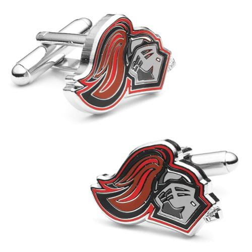 NCAA Mens University of Rutgers Scarlet Knight Cufflinks PD-RTG-SL NEW