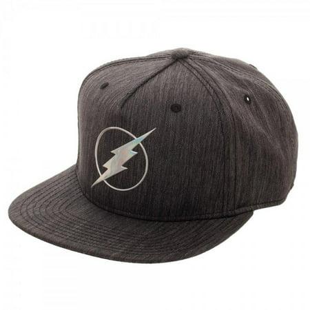Bioworld DC Comics The Flash Iridescent Weld Woven Fabric Snapback Cap Hat - Flash Hat