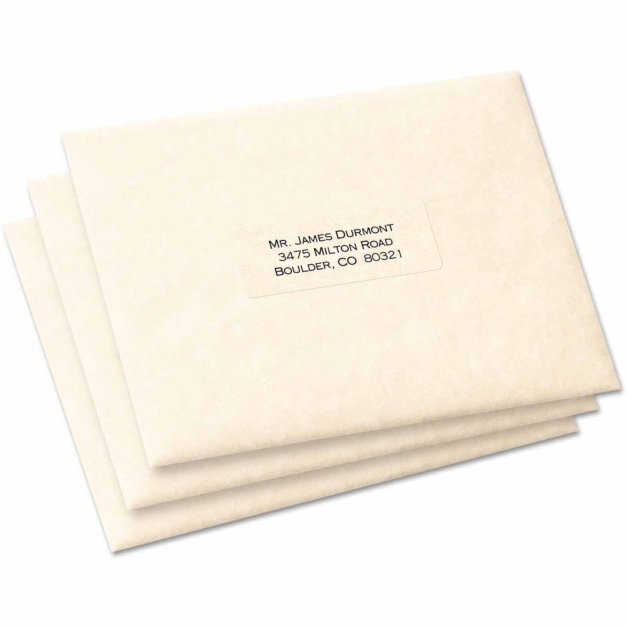 averyr white all purpose labels 6113 1 x 2 34 pack of 128 walmartcom