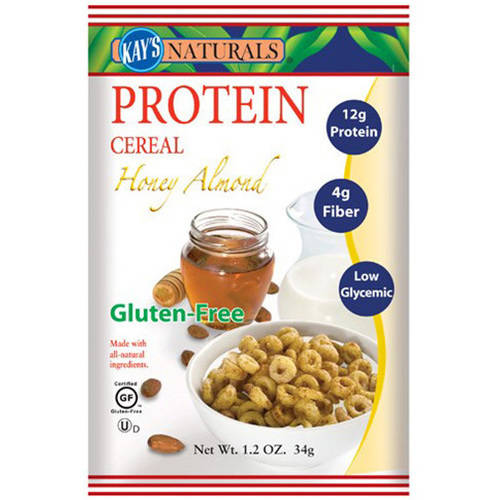 Kay's Naturals Honey Almond Protein Cereal, 1.2 oz