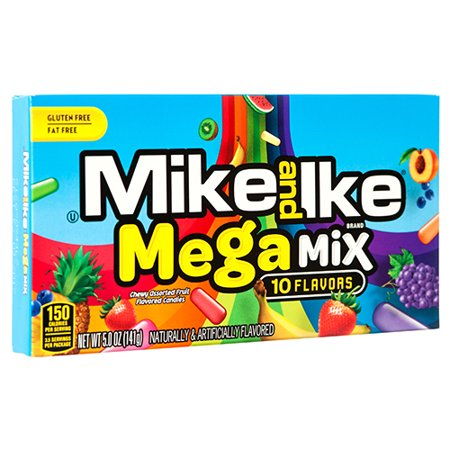 New 355062  Mike  Ike Mega Mix 5 Oz (12-Pack) Candy Bag Cheap Wholesale Discount Bulk Candy Candy Bag Kleenex