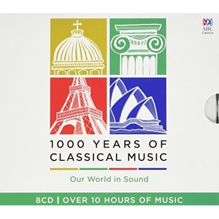 1000 Years Of Classical Music / Various (CD)](Halloween Classical Music)