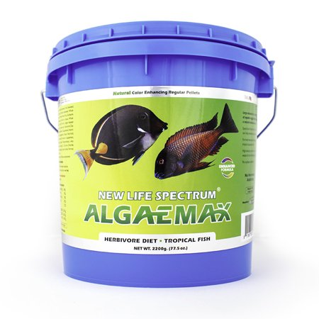 New Life Spectrum AlgaeMax Tropical Fish Food Pellets, 2 2 kg