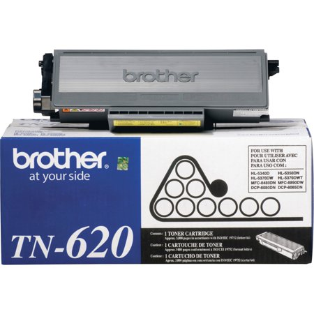 Box 3000 Yield - Brother TN620 Toner, 3000 Page-Yield, Black