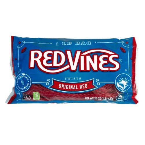 Red Vines Original Red Twists (Pack of 4)