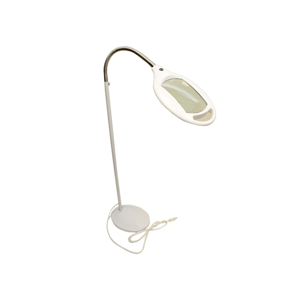 WHITE 3 Diopter Magnifying Magnifier Reading Lamp Goosene...