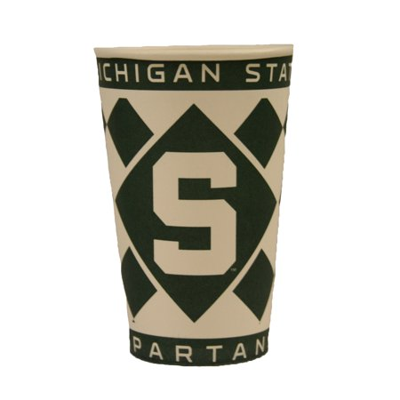 Michigan State Spartans NCAA 16oz Paper Cups - 8 Pack