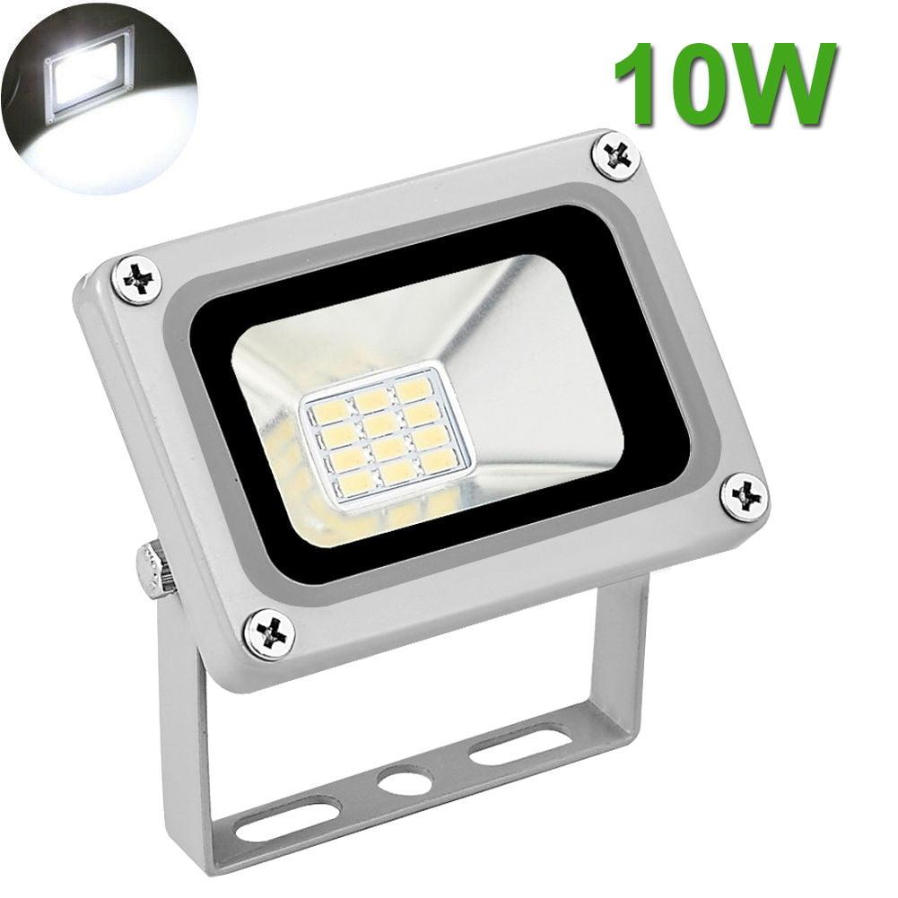 10W LED Flood Light Outdoor Garden Landscape Lamp Waterproof Cool White 12V