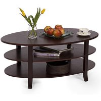 London 3-Tier Multiple Finishes Coffee Table