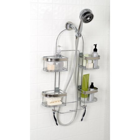 Zenith Products Expanding Shower Caddy  Chrome. Zenith Products Expanding Shower Caddy  Chrome   Walmart com