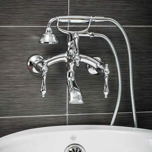 Lovely Pelham U0026 White Luxury Clawfoot Tub Or Freestanding Tub Filler Faucet,  Vintage Design With Telephone
