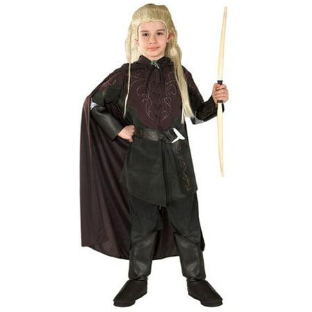 Child's Lord of the Rings Legolas Elf Costume (Lord Of The Rings Girl Elf Costume)