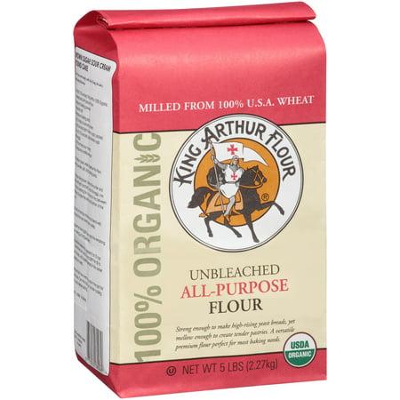 King Arthur Flour Organic Unbleached All Purpose Flour 5