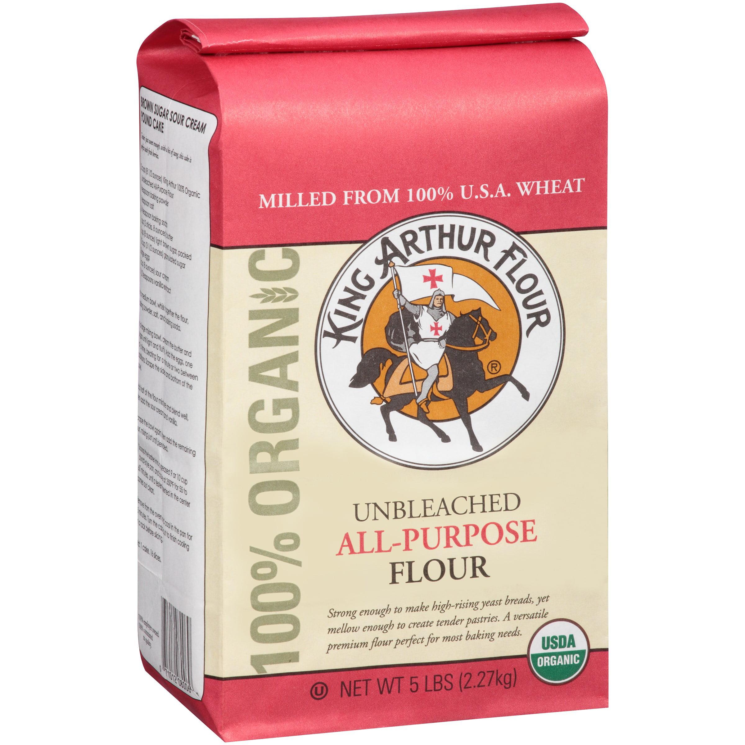 King Arthur Flour Organic Unbleached All Purpose Flour 5 lbs