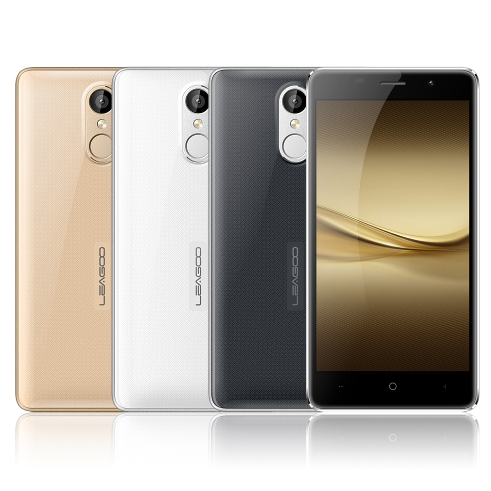 LEAGOO 5.0 Inch 1280*720 HD IPS Display Fingerprint Unlock Dual Camera Phone