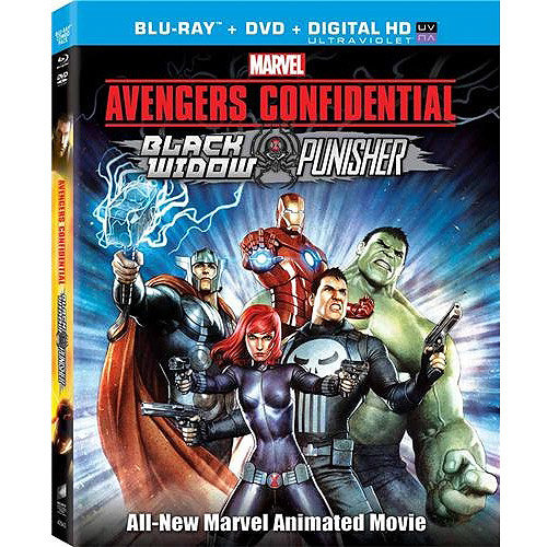Avengers Confidential (Blu-ray + DVD + Digital HD) (With INSTAWATCH) (Widescreen)