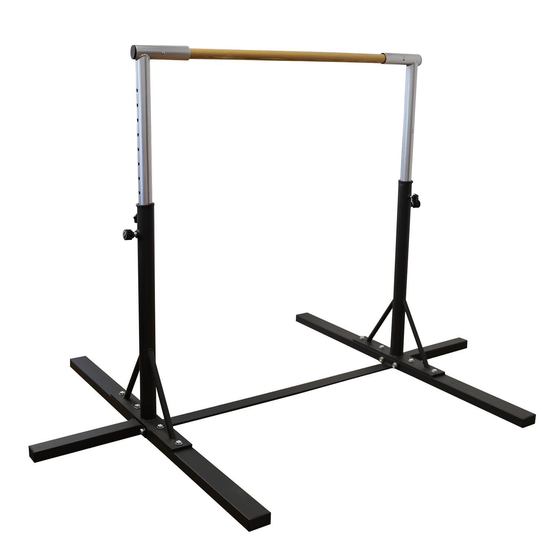 Adjustable Gymnast Training Bar Home Gym Practice Indoor Sports Equipment Purple by