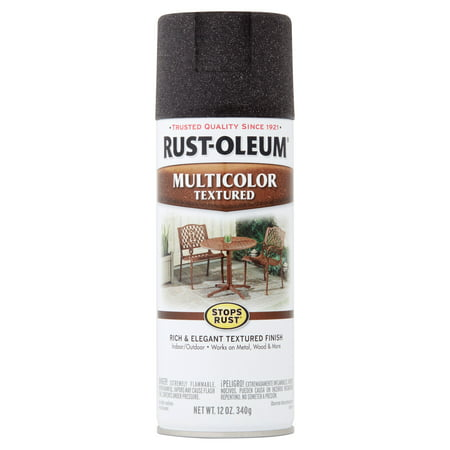 (3 Pack) Rust-Oleum Stops Rust Multicolor Textured Spray Paint, 12