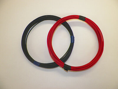 BLACK AND RED 14 GAUGE TXL AUTOMOTIVE HIGH TEMP 25 FEET EACH COLOR = 50FT WIRE