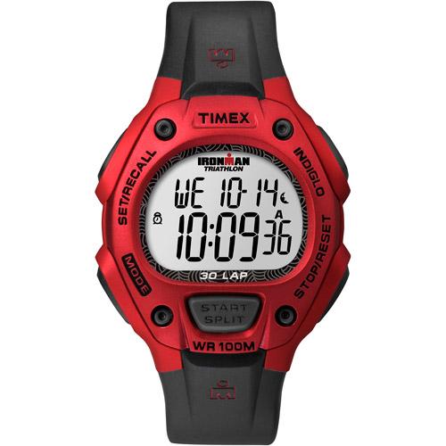 Timex Unisex Ironman 30-Lap Watch, Black Resin Strap