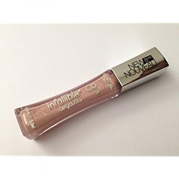 L'oreal Paris Infallible Never Fail Lip Gloss, 0.21-fluid Ounce (462 Pretty Precious)