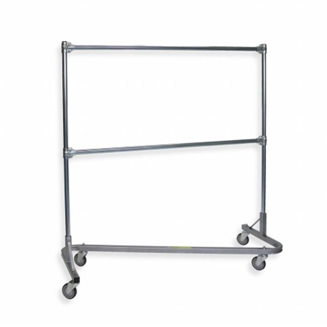 R&B Wire R Wire Products 737 Stack Garment Rack with 2nd ...