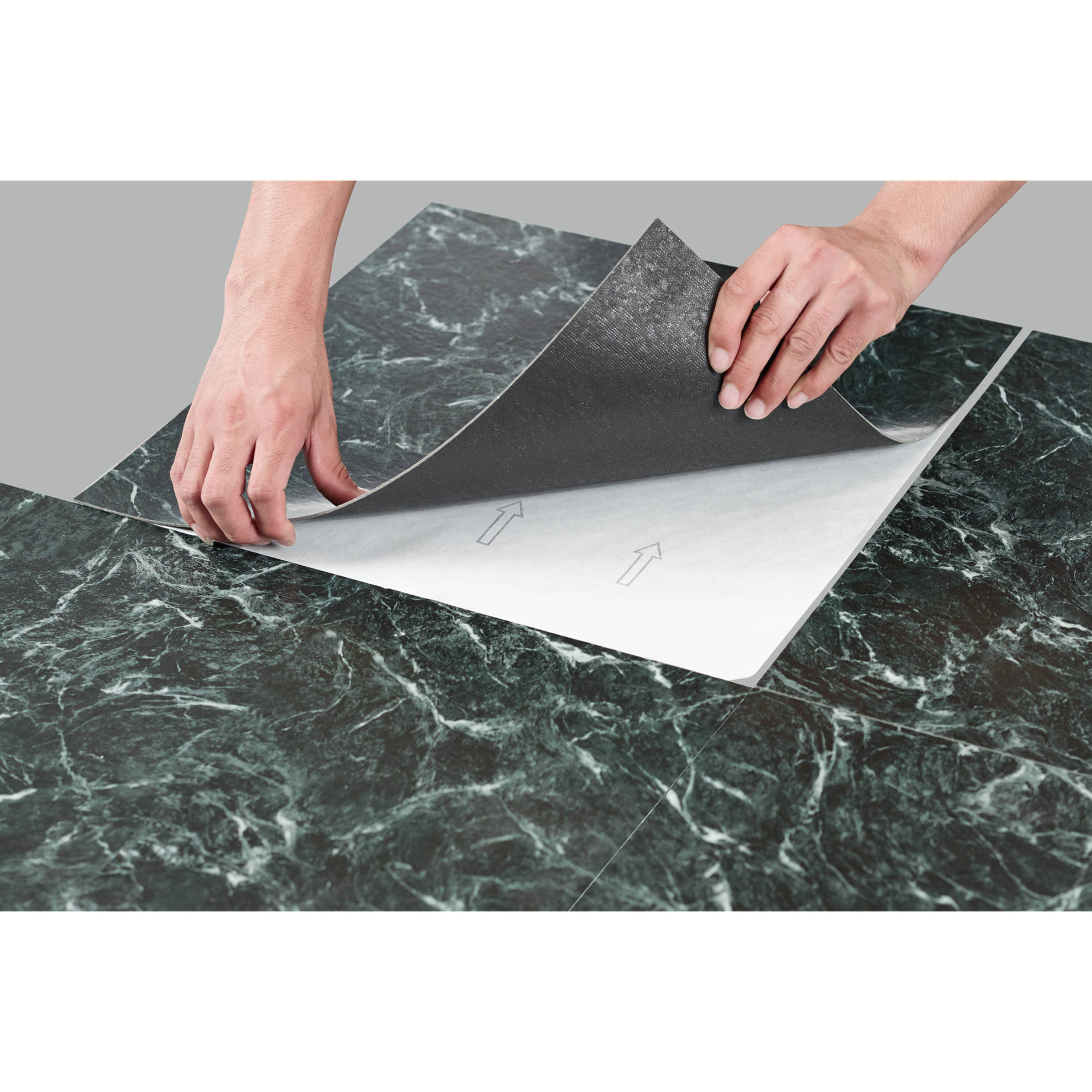 Majestic Verde Green Marble 18x18 2 0mm Vinyl Floor Tile