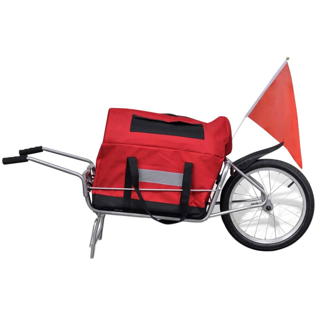 Bicycle Bike Cargo Trailer Cart Carrier Shopping Luggage Cart Carrier with Wheel