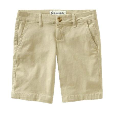 Aeropostale Women's Khaki Bermuda Shorts - Walmart.com