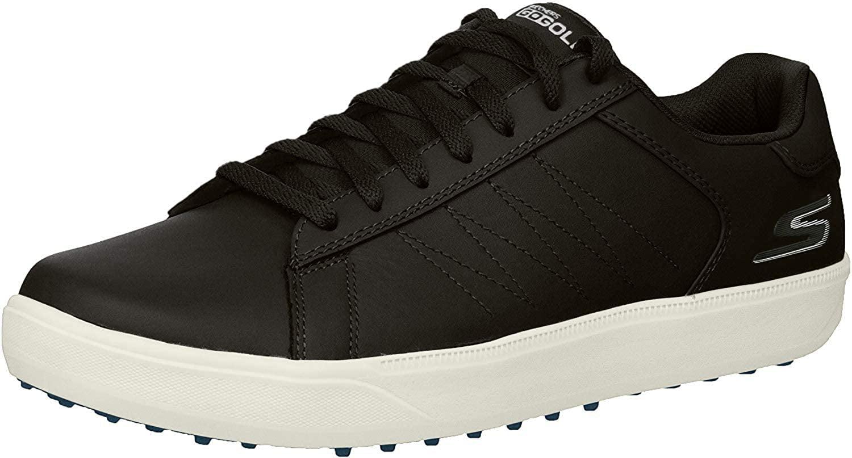 Skechers Men's Drive 4 Golf Shoe, Black