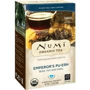 Numi Teas Emperor's Puerh 16 Bag, Pack of 2