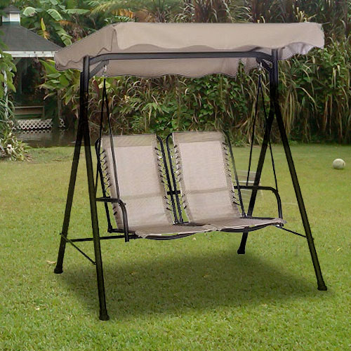 Garden Winds Replacement Canopy Top For Alexander 2 Seater Swing
