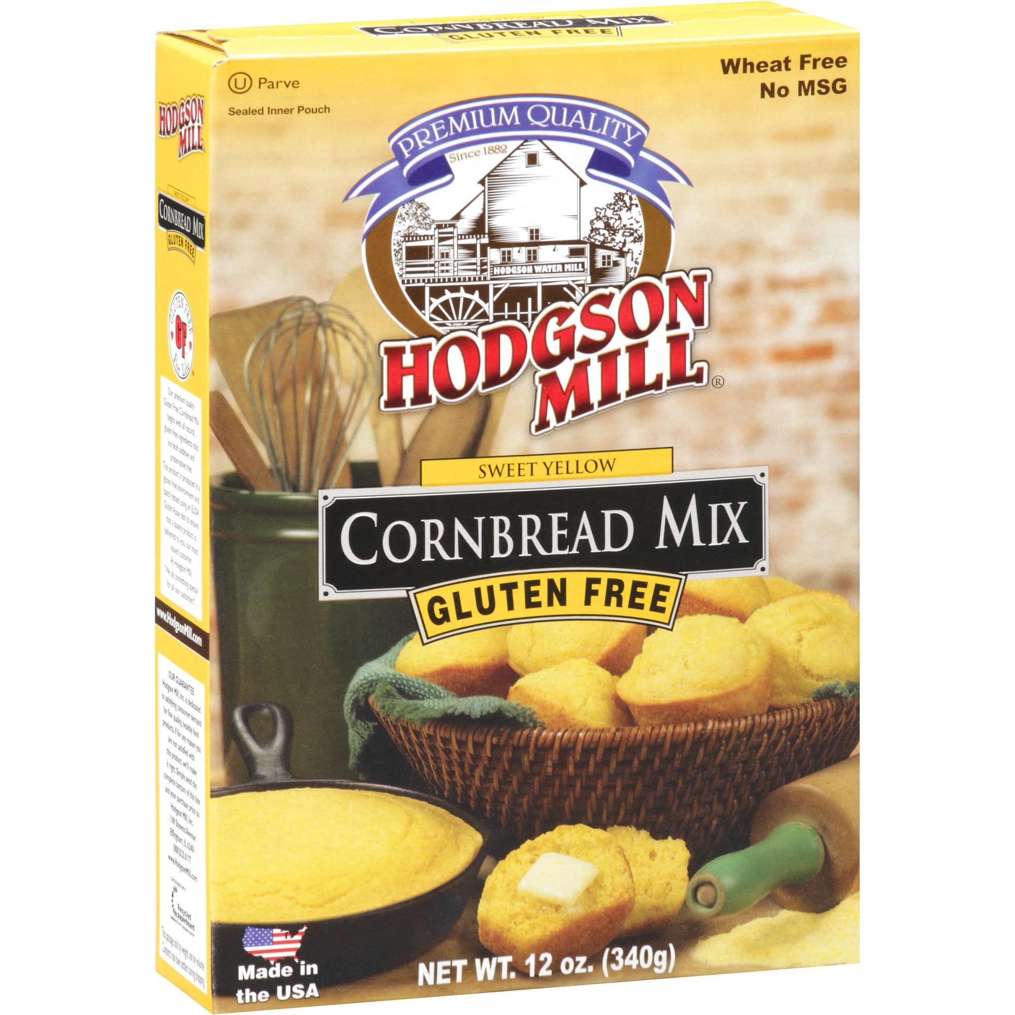 Hodgson Mill Gluten Free Sweet Yellow Cornbread Mix, 12 oz