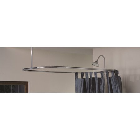 Cheviot Products Rectangle Shower Curtain Enclosure