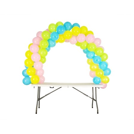 Balloon Arch Kit Adjustable for Different Table Sizes Birthday, Wedding, Christmas, and Graduation Party - Balloon Table Weights