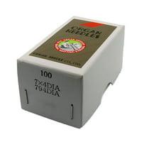 100 Pk. Organ 7X4DIA 794DIA Diamond Point Leather Sewing Machine Needle Singer Size 27 (Metric Size 250)