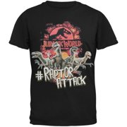 Jurassic World - Hashtag Raptor Attack Shirt Youth T-Shirt